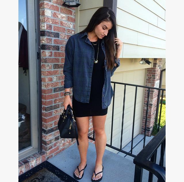 black dress1